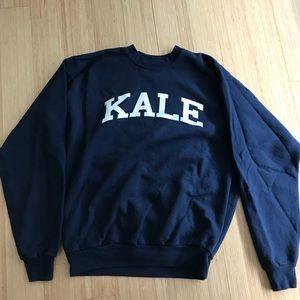 Sub Urban Riot Sweaters - Kale sweatshirt, navy, unisex, Hanes size M